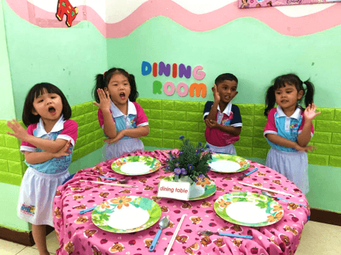 best kindergarten preschool Penang Malaysia High 10 Kingdom speech and drama